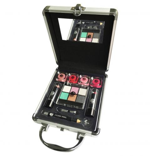 2k Beauty Basic Train Case Trusa Makeup - Truse machiaj -