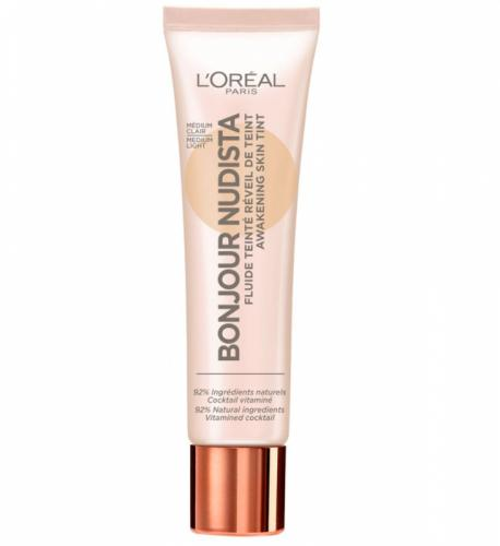 BB Cream L Oreal Paris Bonjour Nudista - Medium Light - 30 ml - Machiaj fata -