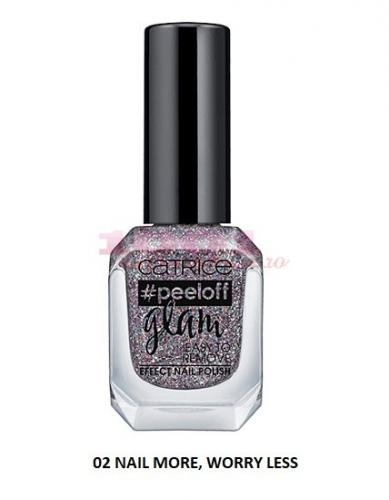 Catrice Peeloff Glam Easy To Remove Effect Lac De Unghii 02 Nail More Worry Less -  Tratament cuticule -