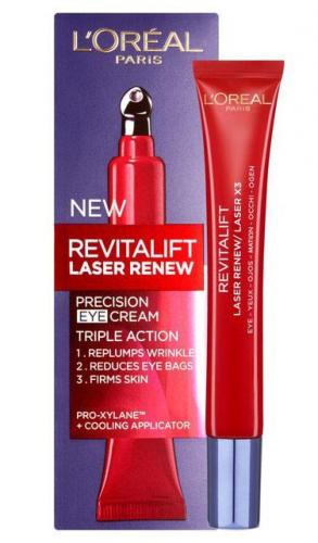 Crema contur ochi anti-rid L Oreal Paris Revitalift LASER RENEW - cu Acid Hyaluronic - 15 ml - Ingrijire Ten -