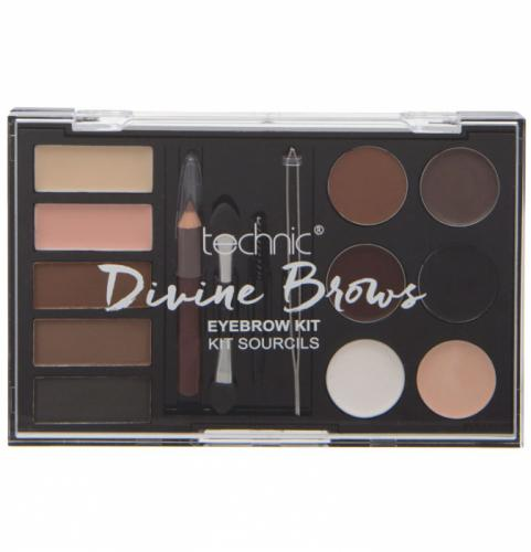 Kit complet pentru sprancene TECHNIC DIVINE Brows - Eyebrow Kit - Truse Si Seturi -