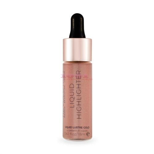 Makeup Revolution Liquid Highlighter Iluminator Lustre Gold - Make-up - Iluminator)