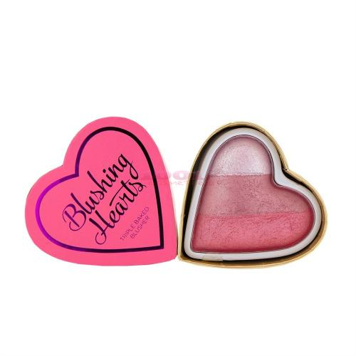 Makeup Revolution London Hearts Blusher Bursting With Love - Fard de obraz -