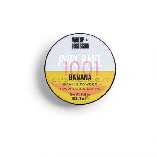 Makeup Revolution Pure Bake Pudra Pulbere Banana - Fond de ten -