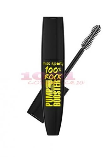Miss Sporty 100% Rock Pump Up Booster Mascara - Make-up -  Rimel