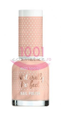 Miss Sporty Naturally Perfect Lac De Unghii Vanilla Flavor