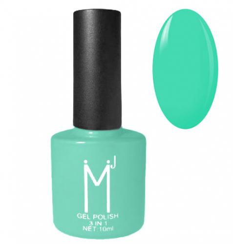 Oja semipermanenta 3 in 1 – MJ Gel Polish – Nuanta 082 Turquoise Green – 10 ml