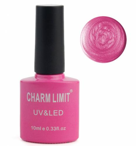 Oja semipermanenta cu asect sidefat CHARM LIMIT Gel Polish UV LED – Nuanta 057 Sparkle Candies – 10 ml