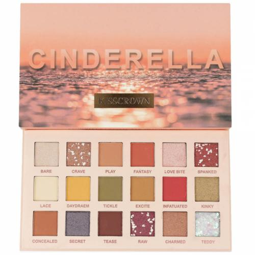 Paleta Profesionala de Farduri CINDERELLA Kiss Crown – 18 Color Eyeshadow Palette