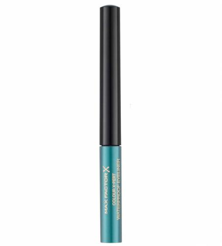 Tus de ochi lichid Max Factor Colour X-Pert Waterproof - 04 Metallic Turquoise - Machiaj ochi -