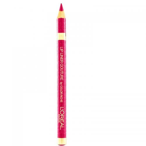 Creion de buze Loreal Lip Liner Couture by Color Riche - Nuanta 285 Pink Fever - Machiaj buze -