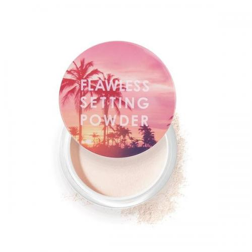 Pudra fixare machiaj Focallure Flawless Setting Powder 02 Ivory